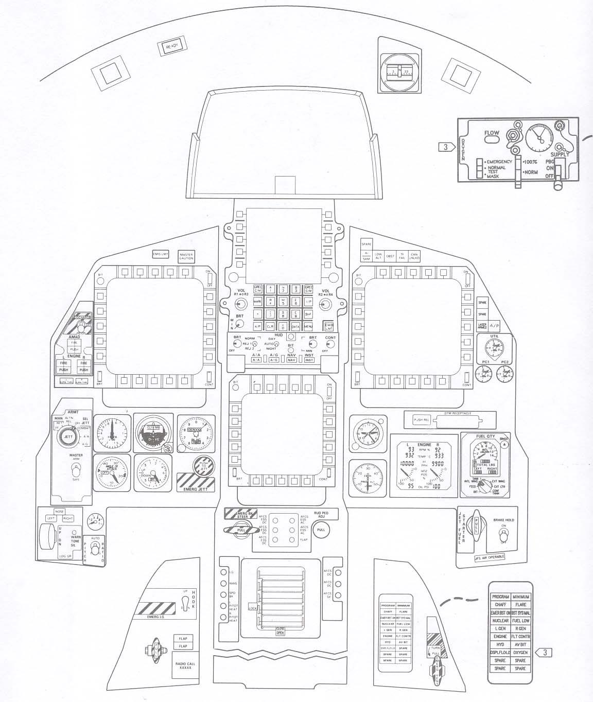 Misc : F-15C Flight Simulator Project