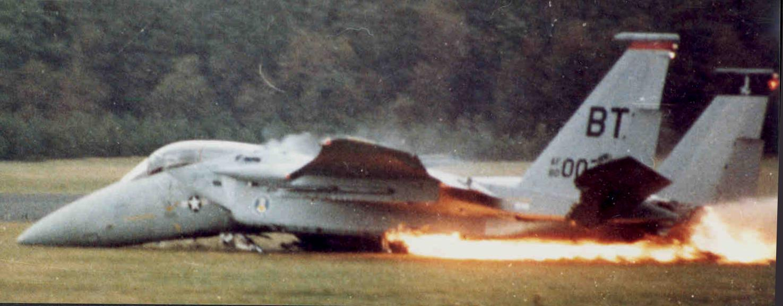سقوط اف 15