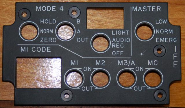 IFF Control Panel