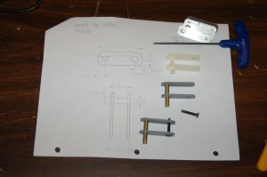 New throttle pawl parts & drawing