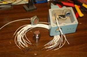 SFS wiring parts.