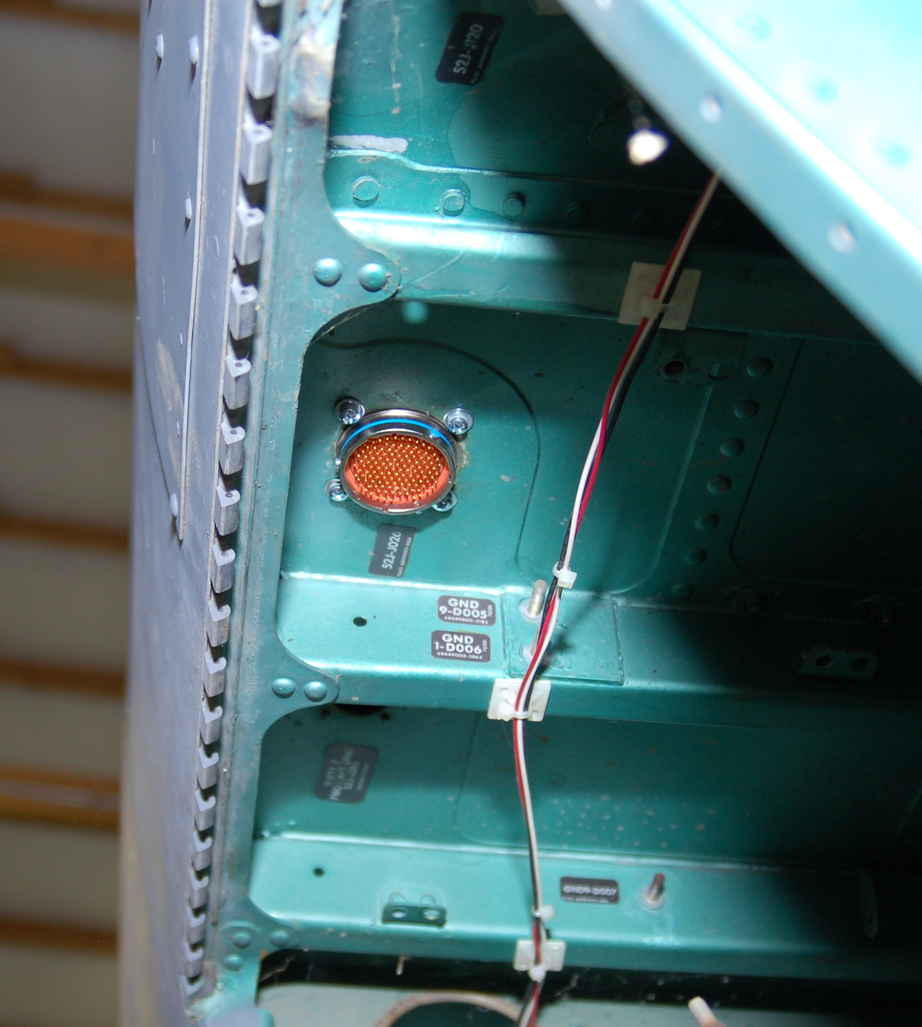 Milepebble F 15c Flight Simulator Project Wiring Harness Installed 2