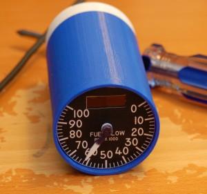 gauge front